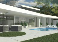 Projekt rodinného domu u Chomutova od architekta Radomíra Grafka