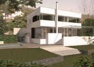 Projekt rodinného domu ve Žlíbku u Děčína od architekta Radomíra Grafka