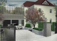 Projekt stavebních úprav vily s ordinací, Seifhennersdorf