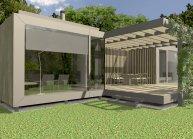 Projekt zahradního domu ve Velkém Šenově