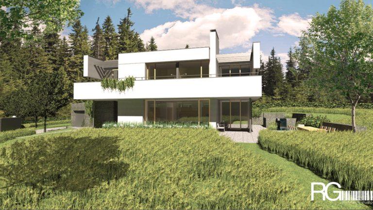 Projekt rodinného domu v Liberci od architekta Radomíra Grafka