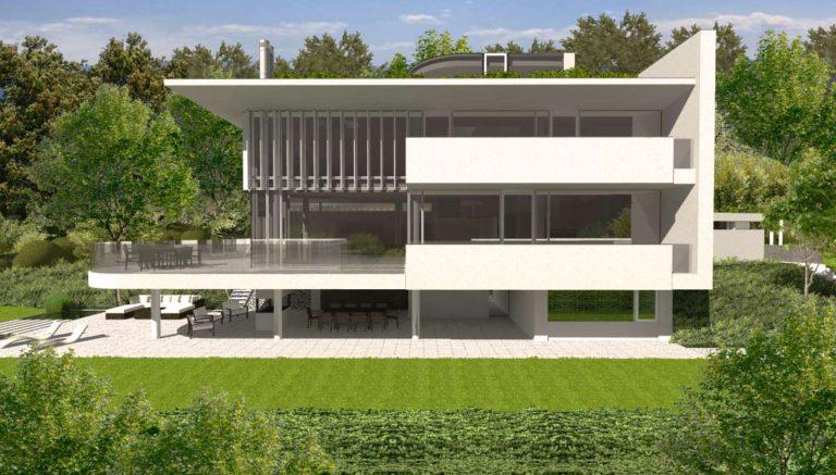 Studie rodinného domu v Liberci-Ruprechticích od architekta Radomíra Grafka z architektonického studia RG architects studio.