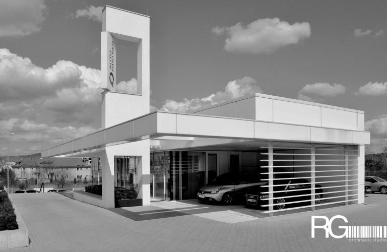 Architekt Liberec – Radomír Grafek – návrh autocentra AUTOPARTNER v Liberci