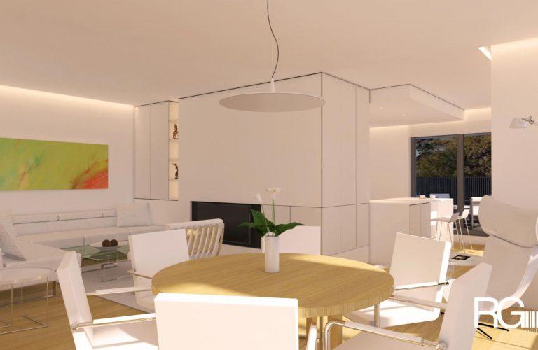 Architekt Liberec – Radomír Grafek – návrh interiéru bytu Liberec