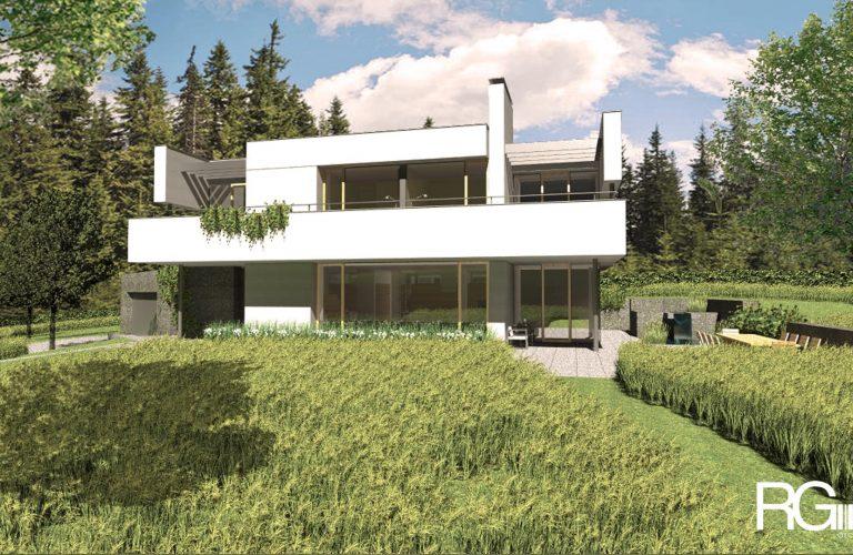 Architekt Liberec – Radomír Grafek – projekt rodinného domu v Liberci Jeřmanicích