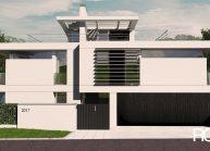 Architekt Praha – Radomír Grafek – projekt moderního rodinné vily v Praze Liboci