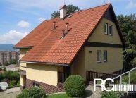 Rodinný dům od architekta Radomíra Grafka – stávající pohled na dům.