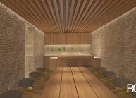 Interiér domu – podzemní podlaží