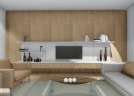 Projekt interiéru bytu v panelovém domě v Liberci od architekta Radomíra Grafka. (2)