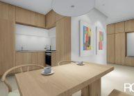 Projekt interiéru bytu v panelovém domě v Liberci od architekta Radomíra Grafka. (6)