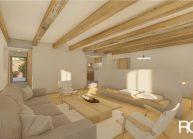 Návrh interiéru bytu vpodstávkovém domu