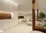 Interiér obývacího pokoje v RD v Rumburku od architekta Radomíra Grafka – vizualizace (03).