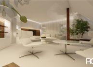 Interiér obývacího pokoje v RD v Rumburku od architekta Radomíra Grafka – vizualizace (06).