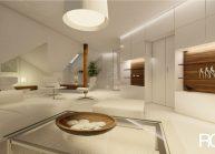 Interiér obývacího pokoje v RD v Rumburku od architekta Radomíra Grafka – vizualizace (08).