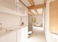 Návrh interiéru v podstávkovém domě ve Velkém Valtínově u Jablonného v Podještědí (3)