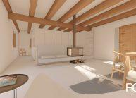 Návrh interiéru v podstávkovém domě ve Velkém Valtínově u Jablonného v Podještědí (5)