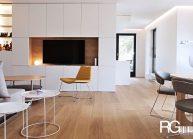Interiér bytu ve vila domu Liberec od architekta Radomíra Grafka