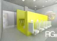 Studie rekonstrukce hygienického zázemí MŠ Sluníčko ve Varnsdorfu od architekta Radomíra Grafka.