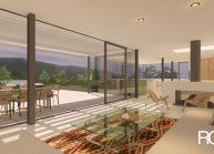 Studie interiéru loftového bytu s terasou (3)