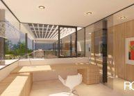 Studie interiéru loftového bytu s terasou (4)