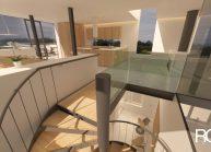 Studie interiéru loftového bytu s terasou (5)