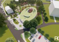 Projekt Mateřské školy ve Varnsdorfu od architekta Radomíra Grafka. (01)