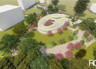 Projekt Mateřské školy ve Varnsdorfu od architekta Radomíra Grafka. (03)