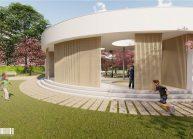 Projekt Mateřské školy ve Varnsdorfu od architekta Radomíra Grafka. (36)