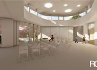 Projekt Mateřské školy ve Varnsdorfu od architekta Radomíra Grafka. (43)