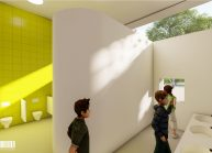 Projekt Mateřské školy ve Varnsdorfu od architekta Radomíra Grafka. (53)