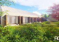Projekt moderního rodinného domu ve Vilémově od architekta Radomíra Grafka (exteriér 5).