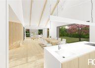 Projekt moderního rodinného domu ve Vilémově od architekta Radomíra Grafka (interiér 4).