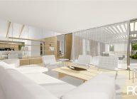 Projekt moderního rodinného domu ve Vilémově od architekta Radomíra Grafka (interiér 5).