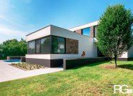 Rodinná vila v Brandýse nad Labem od architekta Radomíra Grafka – realizace.