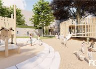Rekonstrukce zahrady Mateřské školy v Rumburku od architekta Radomíra Grafka