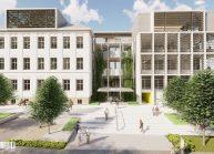 Soutěžní návrh rekonstrukce základní školy Východní Varnsdorf od architekta Radomíra Grafka (01)
