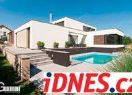RG architects studio, napsali o nás – iDnes.cz, magazín bydlení