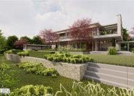 Projekt moderního rodinného domu ve Vesci u Liberce od architekta Radomíra Grafka. (2)