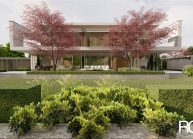 Projekt moderního rodinného domu ve Vesci u Liberce od architekta Radomíra Grafka. (3)