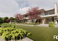 Projekt moderního rodinného domu ve Vesci u Liberce od architekta Radomíra Grafka. (9)