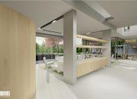 Projekt moderního rodinného domu ve Vesci u Liberce od architekta Radomíra Grafka (interiér 3).