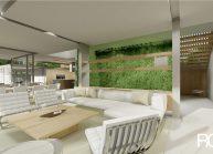 Projekt moderního rodinného domu ve Vesci u Liberce od architekta Radomíra Grafka (interiér 4).