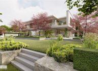 Projekt moderního rodinného domu ve Vesci u Liberce od architekta Radomíra Grafka.