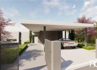 Projekt moderního rodinného domu v Jeníšovicích u Jablonce nad Nisou od architekta Radomíra Grafka. (2)