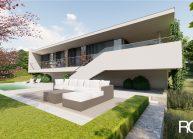 Projekt moderního rodinného domu v Jeníšovicích u Jablonce nad Nisou od architekta Radomíra Grafka. (4)