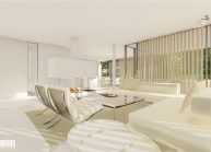 Projekt moderního rodinného domu v Jeníšovicích u Jablonce nad Nisou od architekta Radomíra Grafka. (7)
