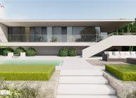 Projekt moderního rodinného domu v Jeníšovicích u Jablonce nad Nisou od architekta Radomíra Grafka.