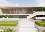 Projekt přízemního rodinného domu v Jenišovicích v Libereckém kraji od architekta Radomíra Grafka