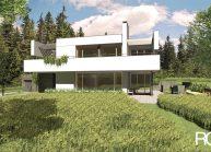 Studie minimalistického rodinného domu v Liberci od architekta Radomíra Grafka