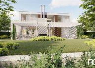 Projekt rodinného domu v Liberci-Karlinkách od architekta Radomíra Grafka – vizualizace
